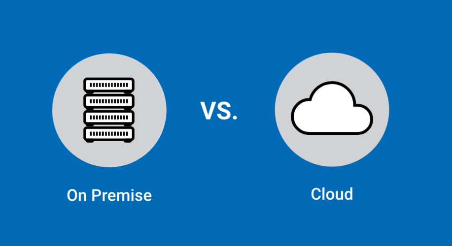 on-premise and cloud computing software